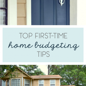 Never Forever: First Home Budgeting Tips