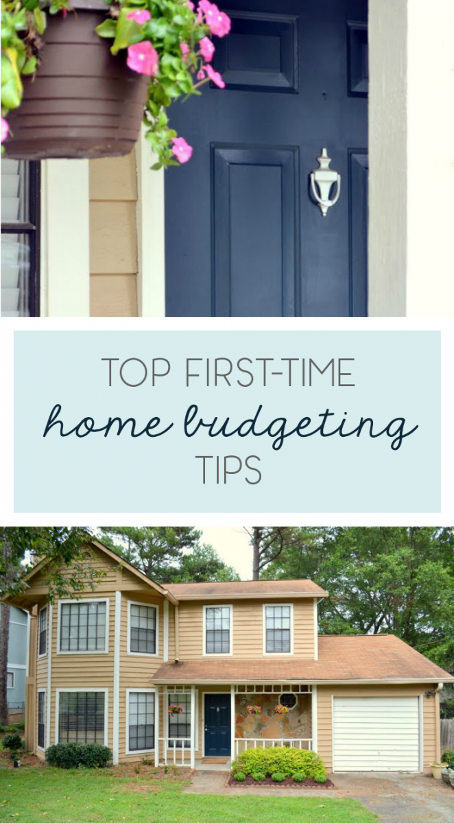 first home budgeting tips
