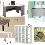 craft room mood board