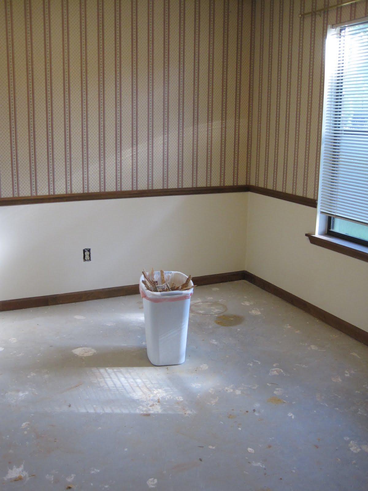 Dining Room Progress: Flooring Prep
