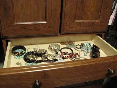Jewelry Drawer Redone