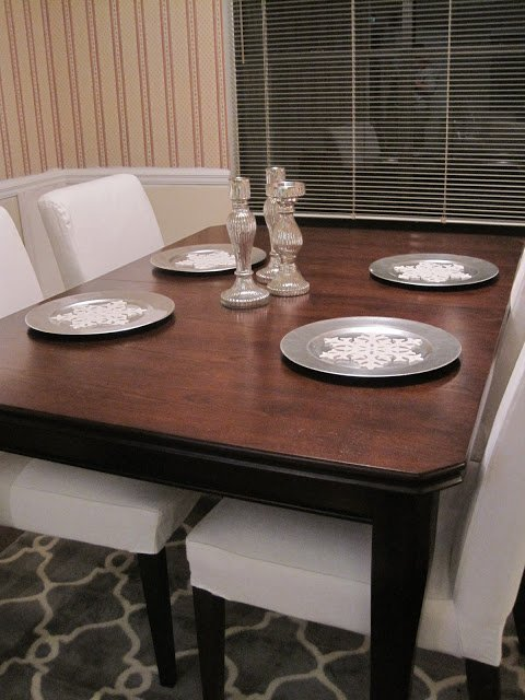 New Years Dining Room