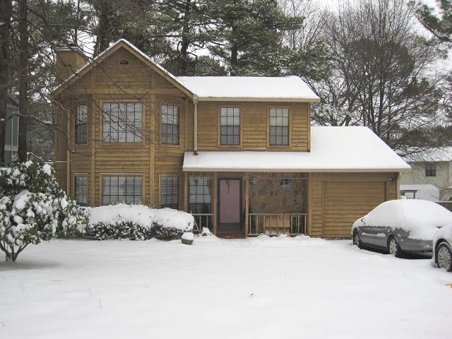 house exterior winter 2011