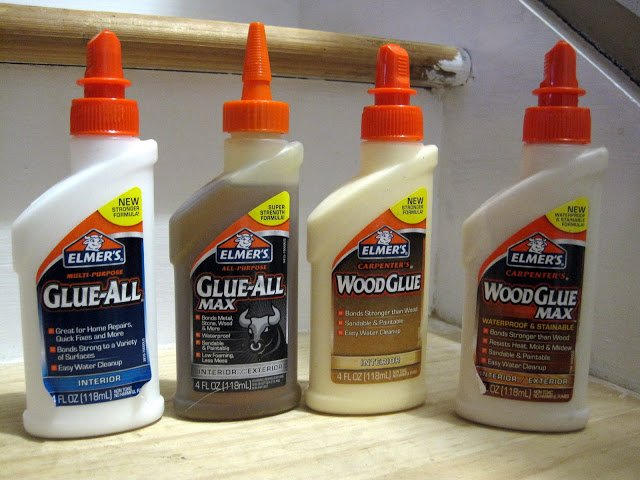 Elmer's Glue-All and Wood Glue