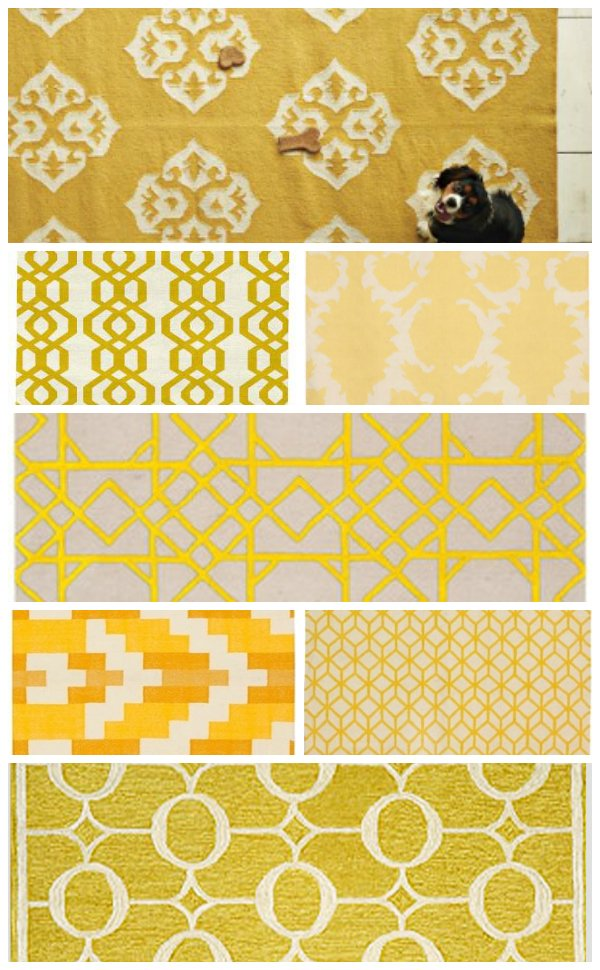 Swoon Yellow Rugs Ugly Duckling House