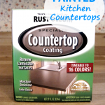 painted kitchen countertops pin
