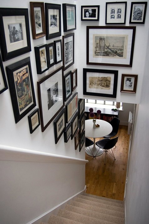 Black And White Frames On Wall