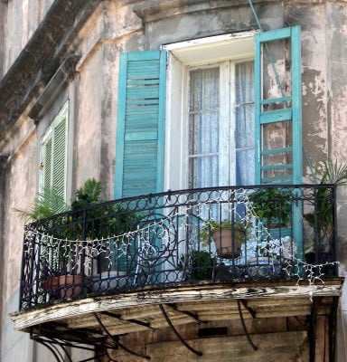 The Beautiful Old Doors of New Orleans