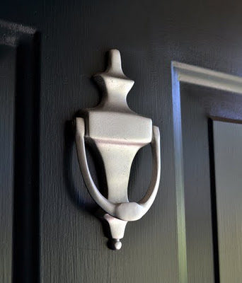 How to Repaint House Numbers and Front Door Hardware