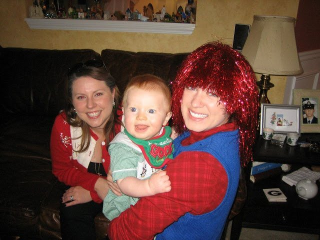 Tacky Sweater Party 2011