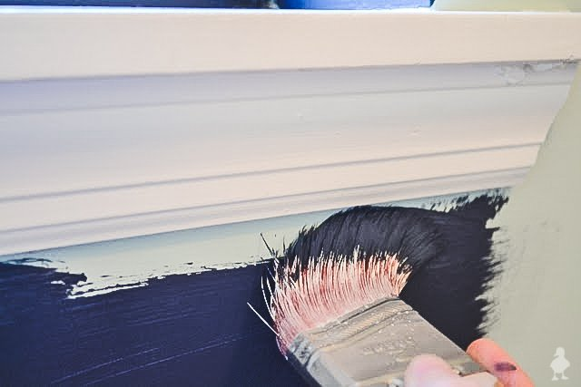 cutting in - how to paint walls and around windows without painters tape