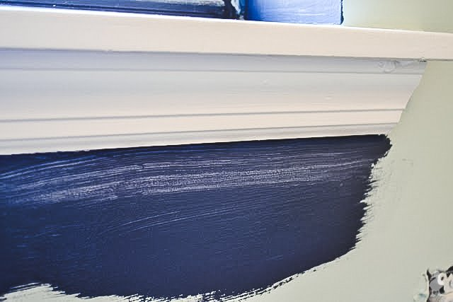 how to paint straight lines with a brush - might be streaky at first