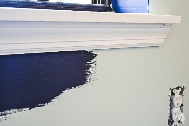 how to paint straight lines without painters tape