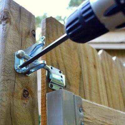 Installing a Gate Latch