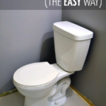 install a toilet the easy way