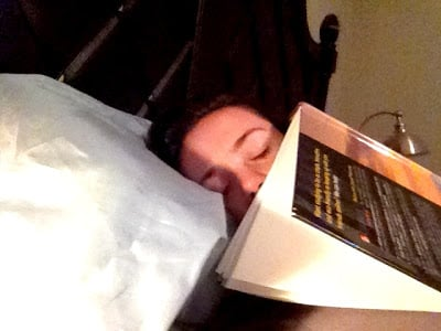 sleeping textbook