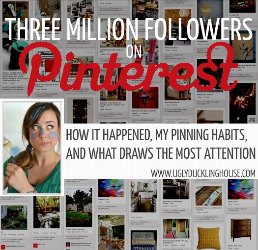 Dude. THREE MILLION Pinterest followers. Whaaaat?