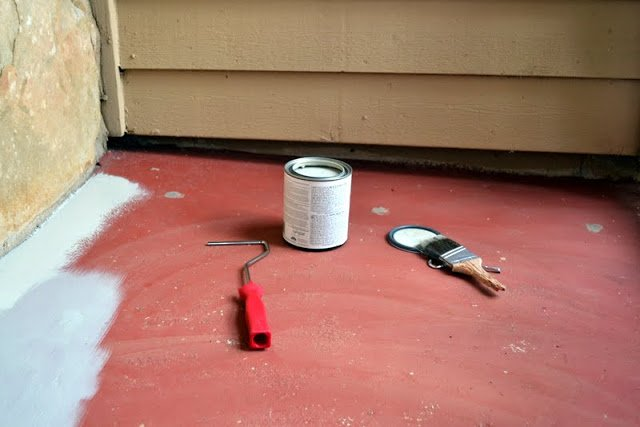 Front Porch: First Coat