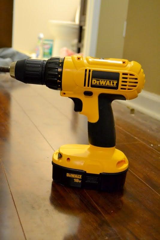 new Dewalt drill