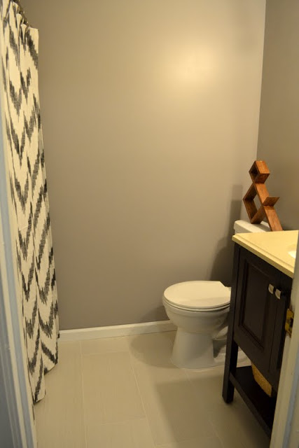 guest bathroom makeover