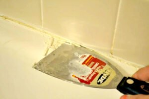 shower caulk