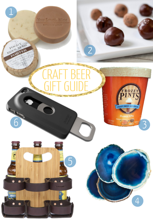 Craft Beer Lover Gift Guide from @uglyducklingDIY