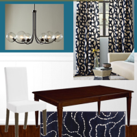 dining room mood board