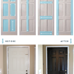 how to paint a paneled door like a pro