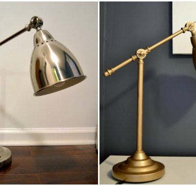 Quick Ikea Hack: Barometer Work Lamp