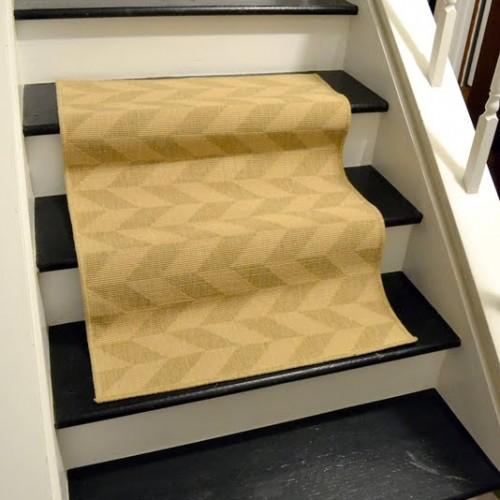 Dueling DIY: Stair Runner Tryouts