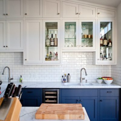 Two Tone Kitchen Cabinet Ideas