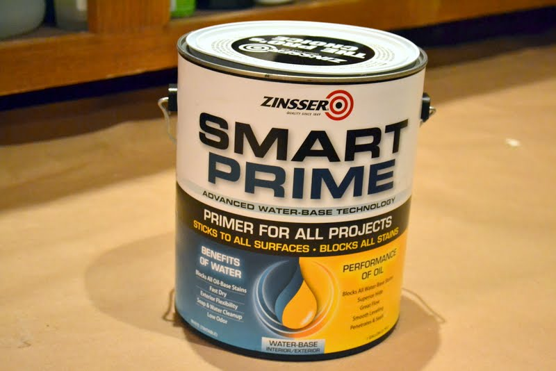 Zinsser Smart Prime for kitchen cabinet painting