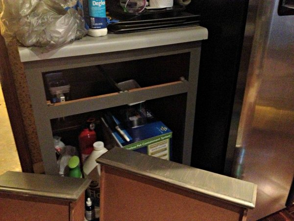 kitchen cabinet second coat
