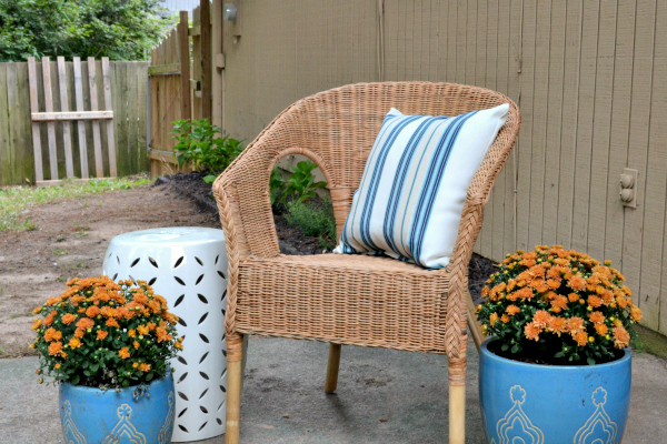 patio after the 2013 mini makeover