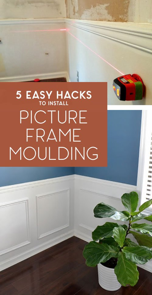 5 Easy Hacks to Install Picture Frame Moulding