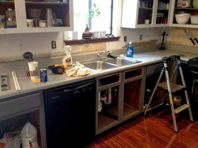 Installing A Butcher Block Countertop Part 1 Ugly