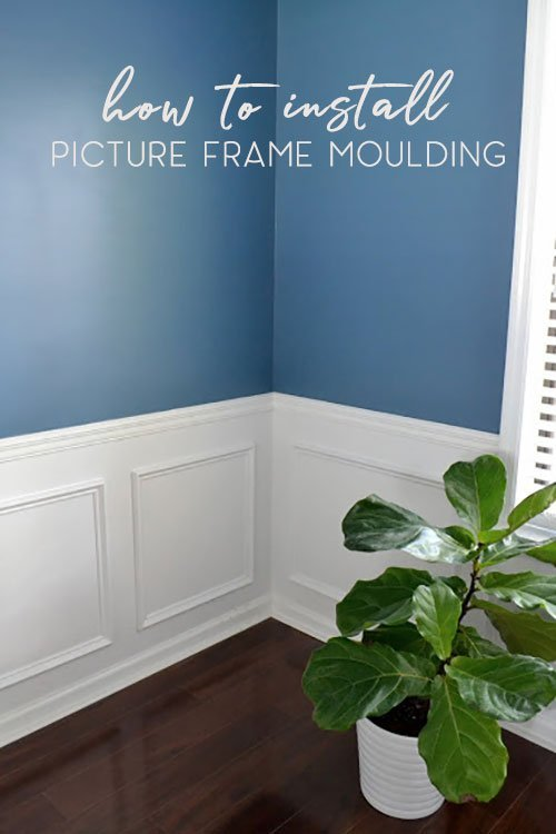 5 hacks to install picture frame moulding