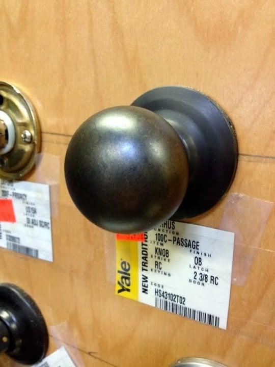 Dueling DIY: Pantry Door Pains