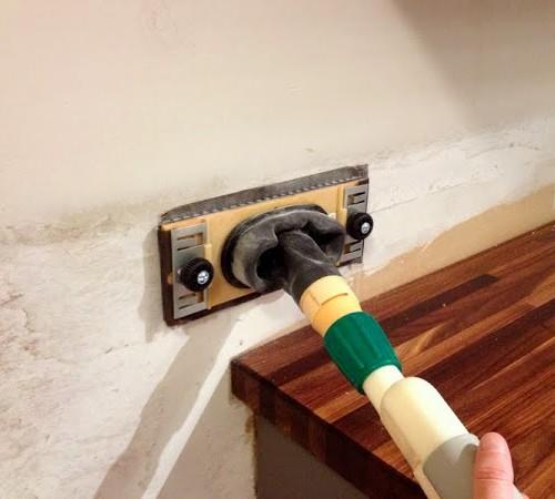 How to Prep Kitchen Walls for a Tile Backsplash