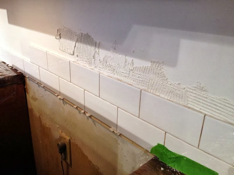 Dueling DIY: Three Tiled Walls • Ugly Duckling House