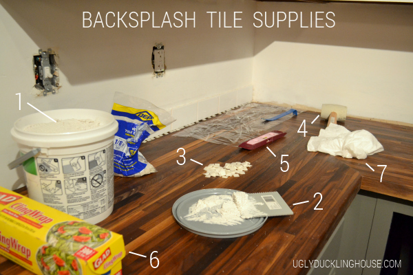 tile backsplash supplies