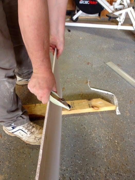 DIY Drywall Over Wood Paneling