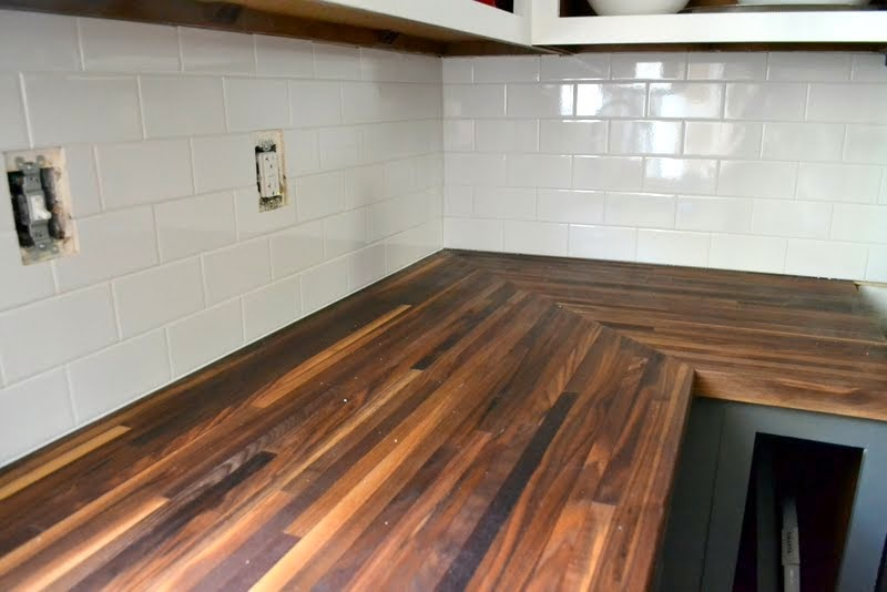 How To Protect Butcher Block Counters During Projects