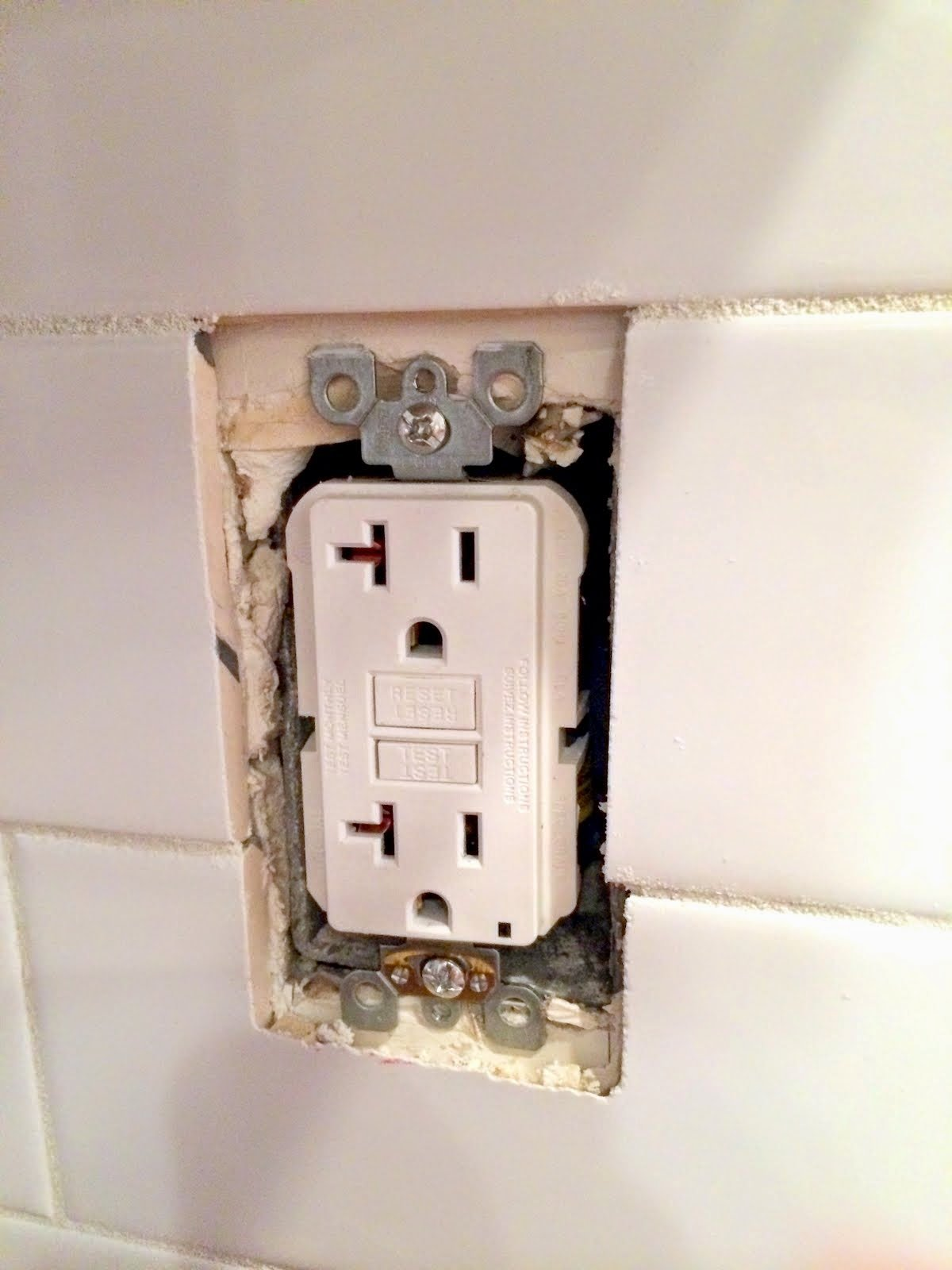- How To Extend An Outlet After Tiling And • Fix A Loose Outlet