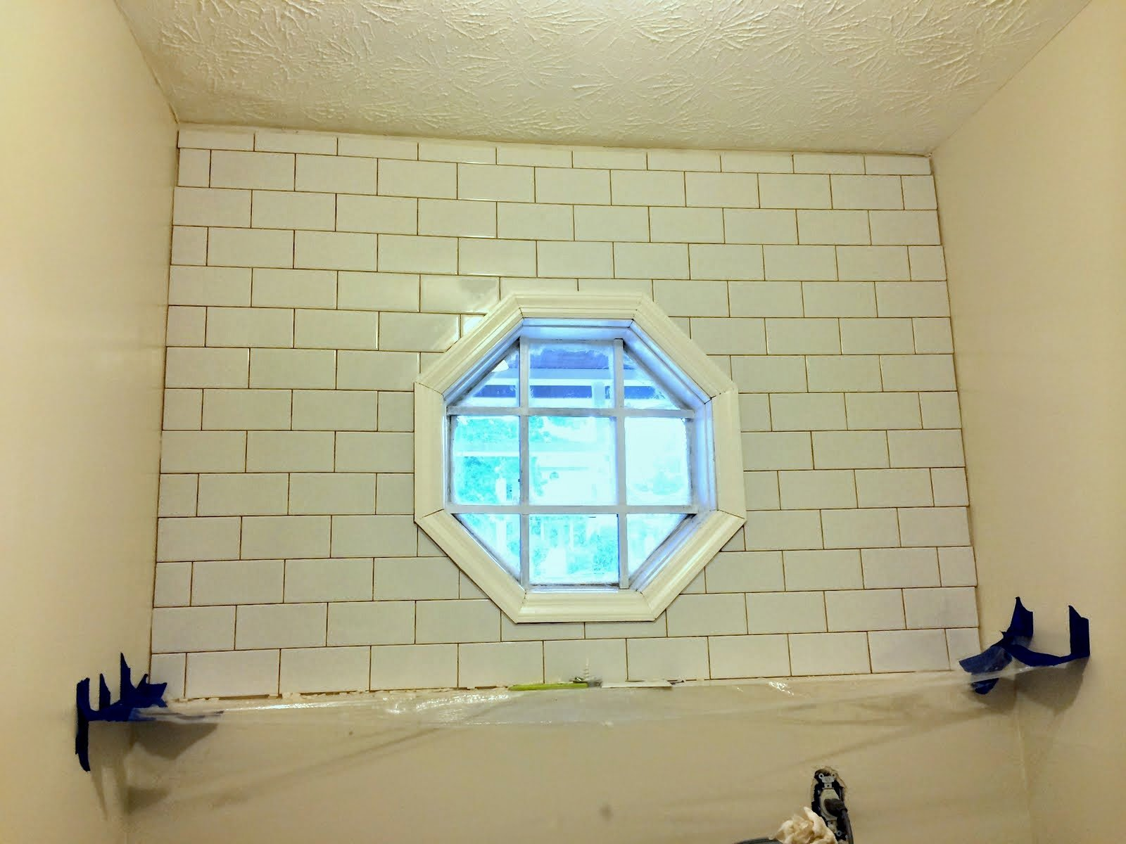 Laundry Room Tile Backsplash • Ugly Duckling House