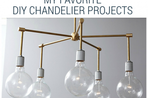 favorite diy chandelier projects
