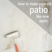 how to make your old patio like new again