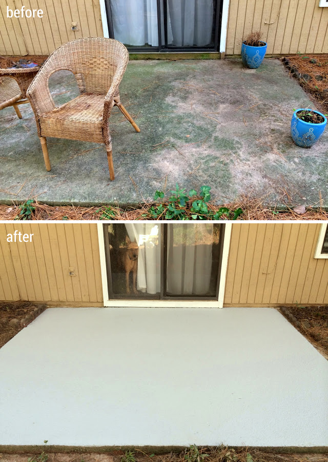 How I Made My Patio Look New Again With Olympic Rescue It