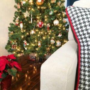 Caulking Around the Christmas Tree