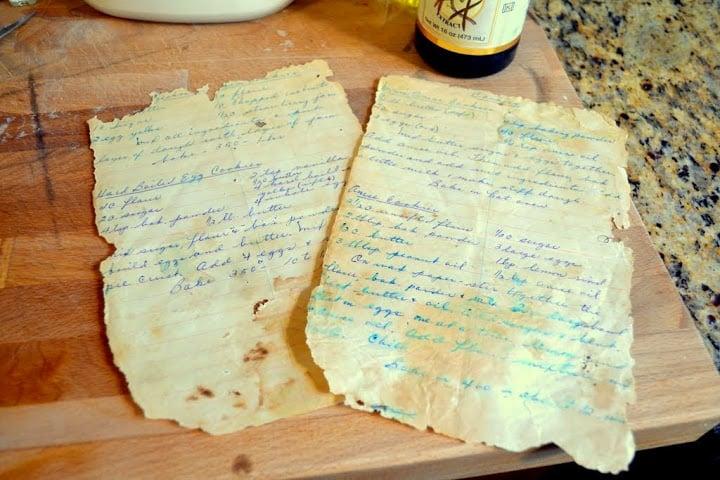 great great granny's recipes